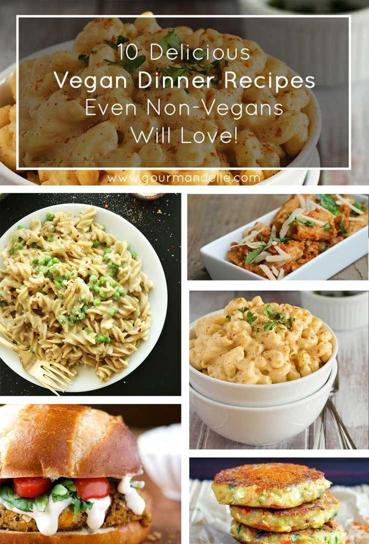 Check out these amazing vegan dinner recipes that non-vegans will love! They are filling, rich, healthy and most important, they taste delicious! | http://gourmandelle.com/vegan-dinner-recipes/