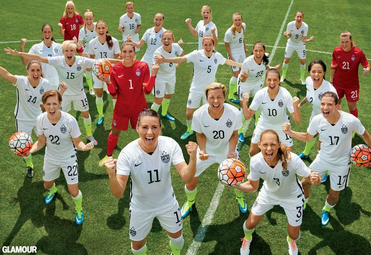 The US Women's Soccer Team Talks World Cup, Pay Gap, and the Power in Believing You Can Win at Anything