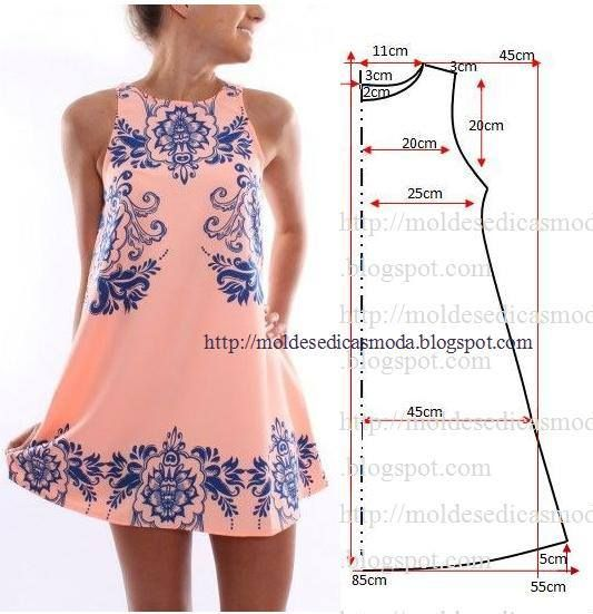 dress pattern - but who knows where it is on the website!