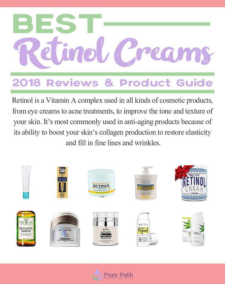 Best Retinol Creams – 2018 Reviews & Product Guide | Pure Path