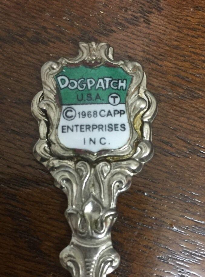 Dogpatch USA Arkansas Amusement Park Souvenir Spoon Lil Abner Collectible 1968  | eBay