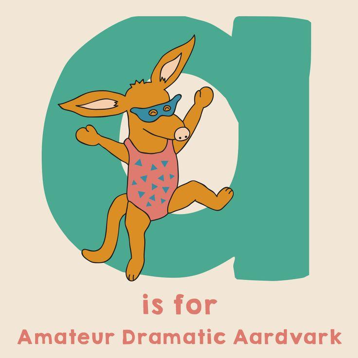Animal Alphabet by sugar and sloth - cute, kawaii, childrens, design, illustration