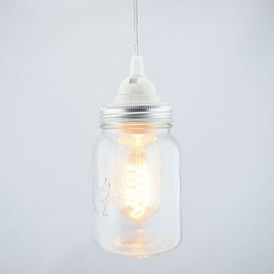 pendant lighting kits. unique pendant mason jar pendant light kit wide mouth clear cord 15ft in lighting kits