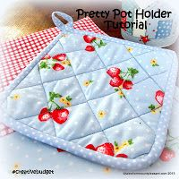 #creativebudget Pretty pot holder tutorial :: Tales from Mount Pleasant