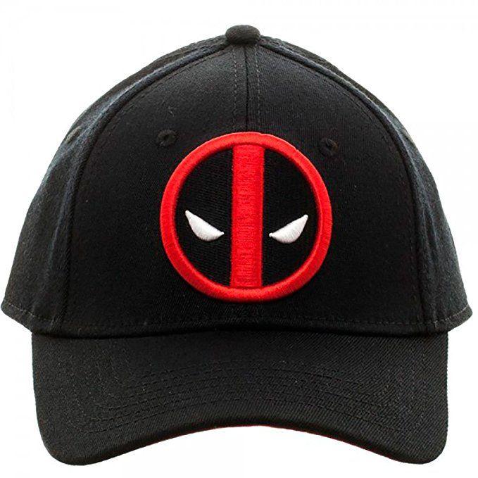 ef7b73d56a5 Amazon.com - Marvel Deadpool Flex Cap Baseball Hat