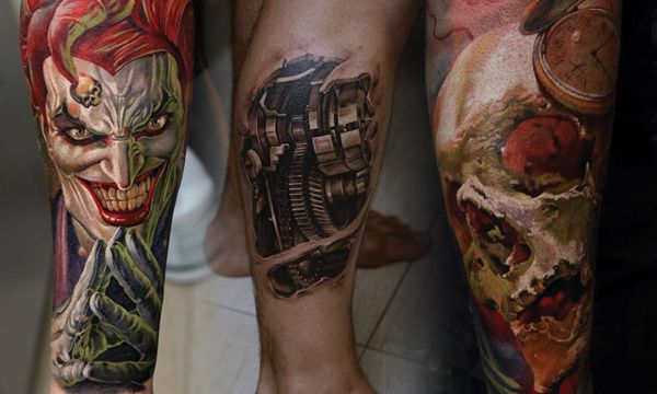 Dmitriy Samohin Tattoo Artist - Everything on this page is AMAZING.  Hard to pick just one picture to pin. I would love to have work done by this artist.