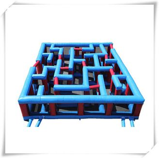 Inflatable Maze Inflatable Adult Games Inflatable Obstacle Course For Kids And Adults