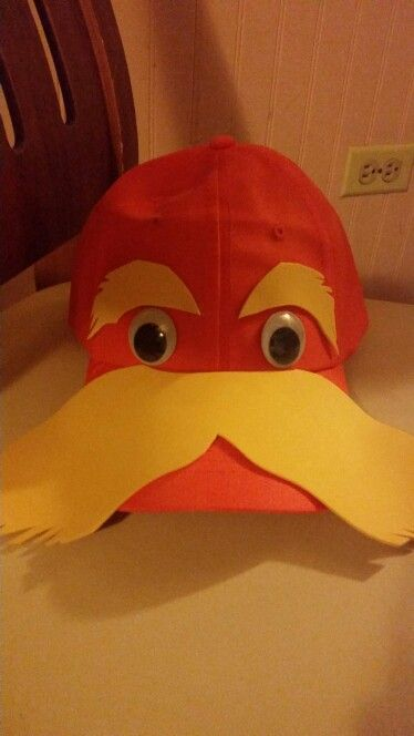 A simple cap transformation, into  Lorax!!!