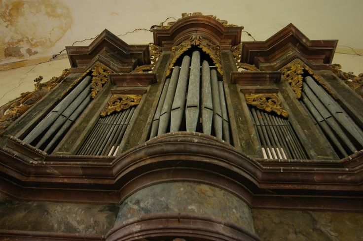 Varhany Leopolda Spiegla 1721 - Kostel sv. Barbory #plzen2015 #baroko #baroque
