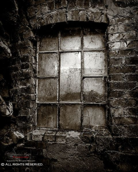 A derelict window from a stable.