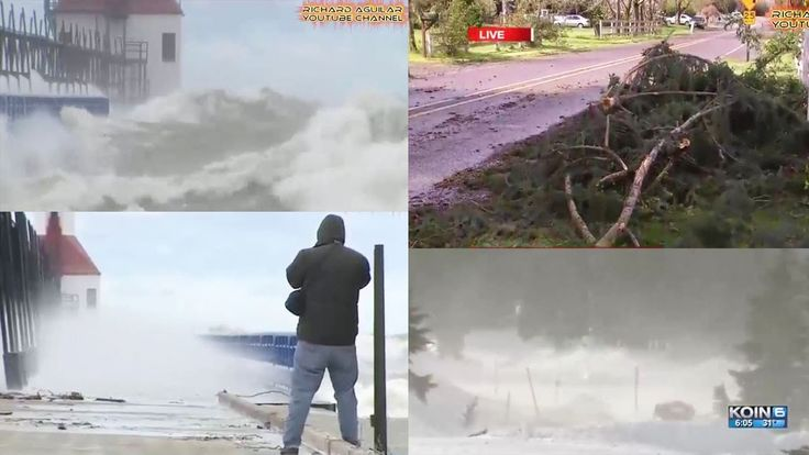 Powerful Winds Hit America! Very Strange Weather is Happening Now