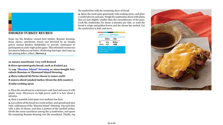 Need a delicious #dinner idea? Try my Smoked Turkey Rueben! It's low-cal, easy to make, and good for you. Most importantly: It's also utterly delicious. (Click image to enlarge for easy reading - thanks!)  #turkey #food #cooking #recipe #lowcal #diet #fitness #health