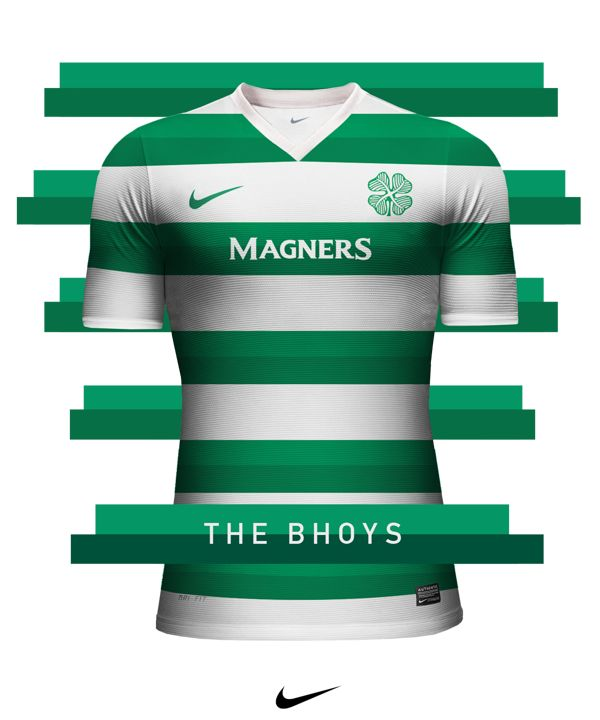 Club jersey design - Nike on Behance