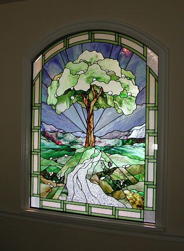 Stained Glass Window  by Tom Holdman