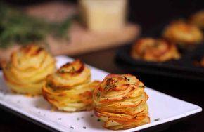 Картофель по-марсельски с пармезаном   Feliscope