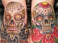 ... images about sugar skull on Pinterest | Parlour Tattoo ideas and Ink