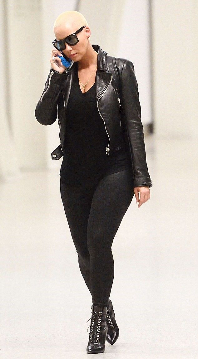 Amber Rose Daily           - Amber Rose in New York on Tuesday .