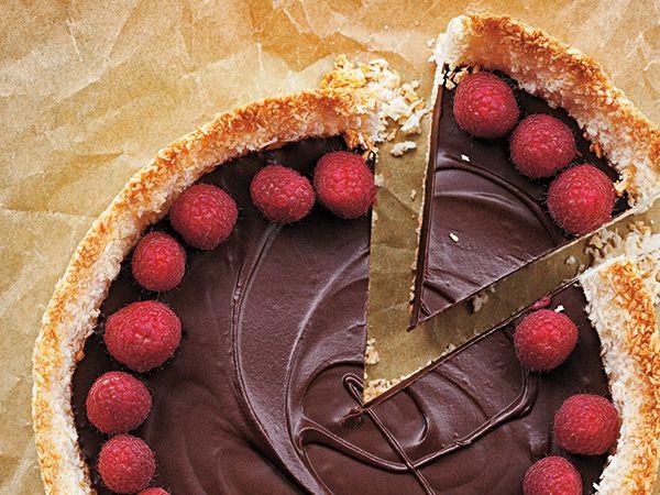 Choklad-+och+kokospaj+|+Recept.nu