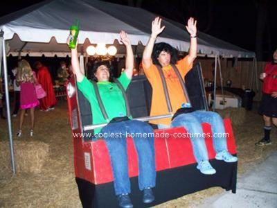 "LMAO! ""Roller Coaster Halloween Costume"" This website has some really great homemade Halloween costume ideas! check it out for sure."