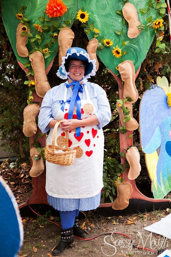 Grandma Nut Costume Candy Land Halloween theme - Strawberry Park Campground -  CT Photographer Sassy Mouth