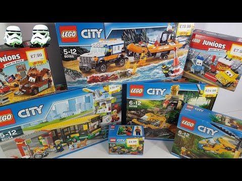 NEW LEGO City, Jungle, Cars 3,Coast Guard from Smyths Toys