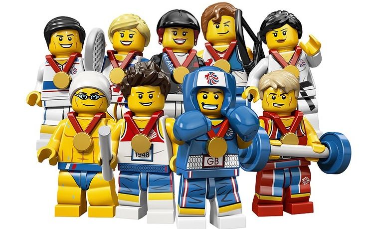 London 2012 Olympics: Team GB lego: in pictures