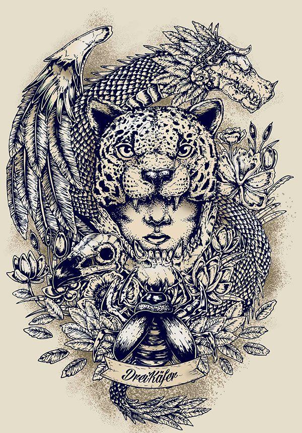 Images Of Mayan Jaguar Tattoo Rock Cafe