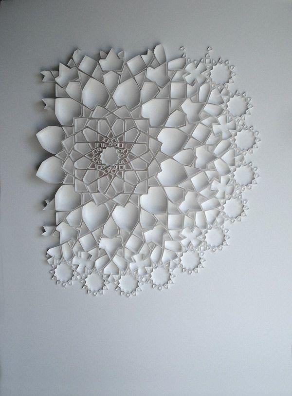 3D Paper Art - Matt Shlian - http://www.laregalerie.fr/des-oeuvres-en-3d-avec-du-papier/