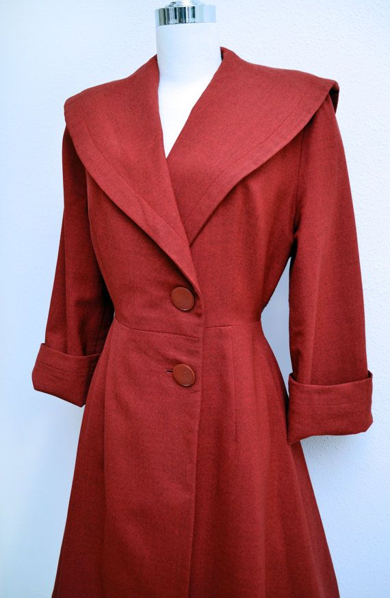 Vintage 1940s Coat via Etsy.