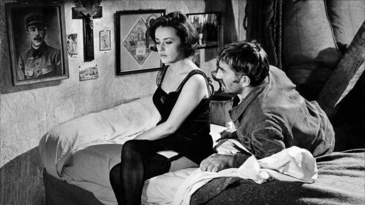 Jeanne Moreau in Le journal d'une femme de chambre by Luis Bunuel 1964