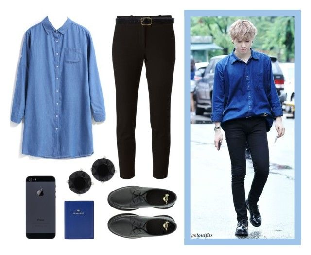 Got7 Style Steal Yugyeom 39 S Airport Fashion By Greasyloveheartmachine Liked On Polyvore