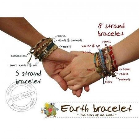 Wakami Earth Bracelets
