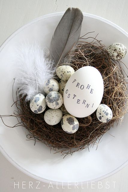 Frohe Ostern! by herz-allerliebst, via Flickr