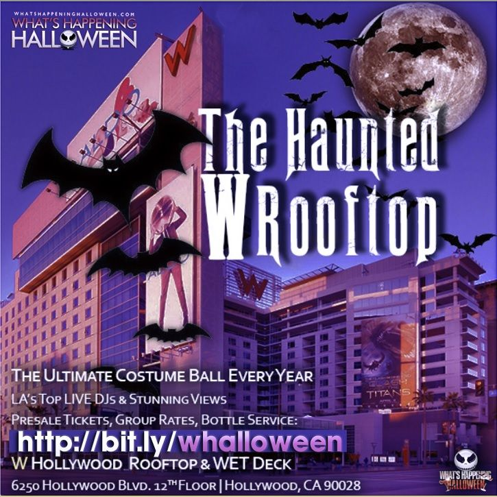 10 best w hollywood halloween events in la images on for Haunted hotels in los angeles ca