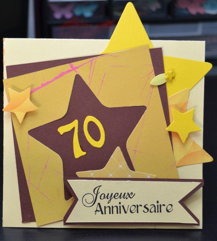 1000 ideas about anniversaire 70 ans on pinterest carte anniversaire 70 ans invitation - Carte anniversaire 70 ans a imprimer ...