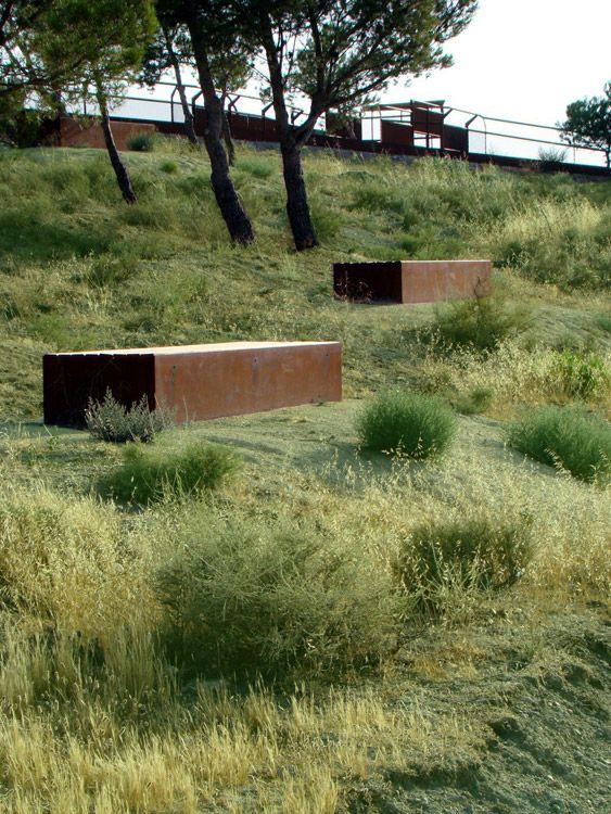 mnarquitectos oria castle landscapearchitecture 02 « Landscape Architecture Works | Landezine
