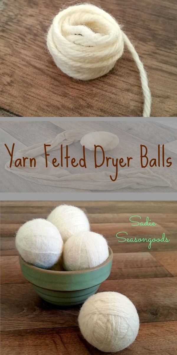 Knitting Pattern For Wool Dryer Balls : 17 Best images about Yarn Ball Ideas on Pinterest Yarn wreaths, Christmas t...
