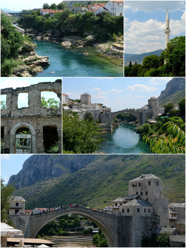 Isn't it beautiful?? Mostar where history and beautiful culture meets...