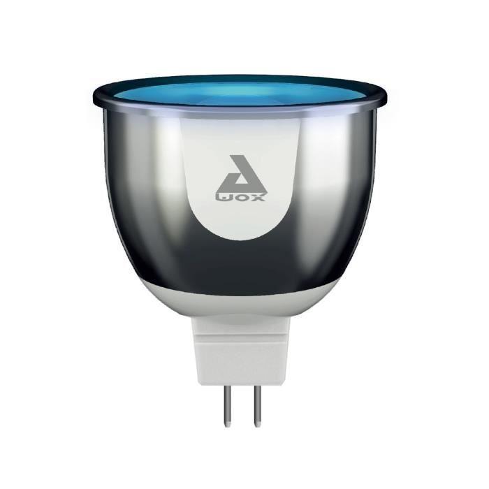 25.46 € ❤ IoT #FrenchTech - #AWOX Ampoule #Spot #LED GU5.3 #SmartLIGHT connectée multicolore ➡ https://ad.zanox.com/ppc/?28290640C84663587&ulp=[[http://www.cdiscount.com/maison/bricolage-outillage/awox-ampoule-spot-led-gu5-3-smartlight-connectee-m/f-117044115-awosmlc4gu53.html?refer=zanoxpb&cid=affil&cm_mmc=zanoxpb-_-userid]]  Plus de découvertes sur Le Blog Domotique.fr #domotique #smarthome #homeautomation