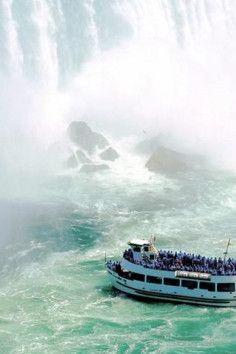The only real way to see Niagara Falls