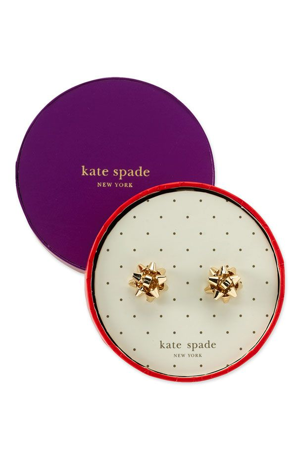 kate spade -  'bourgeois bow' stud earrings