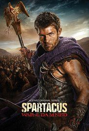 Spartacus (2010) follows the life of the gladiator who led a slave revolt against the Romans before the time of Caesar