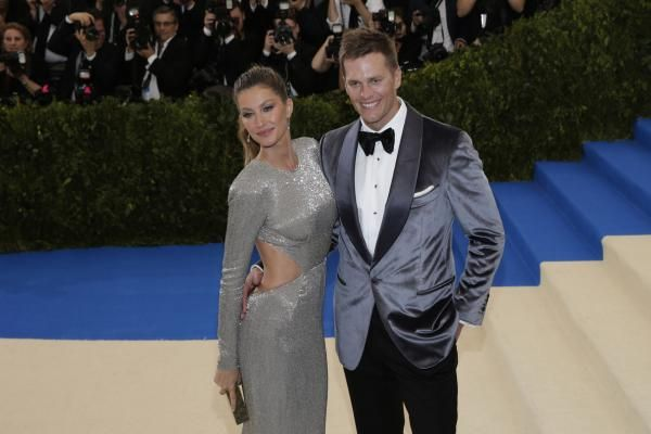 New England Patriots quarterback Tom Brady addressed his wife's comments in regard to whether he sustained a concussion last season.
