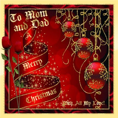 Send This Merry Christmas Ecard To Your Mom And Dad And Show Youu0027re Thinking