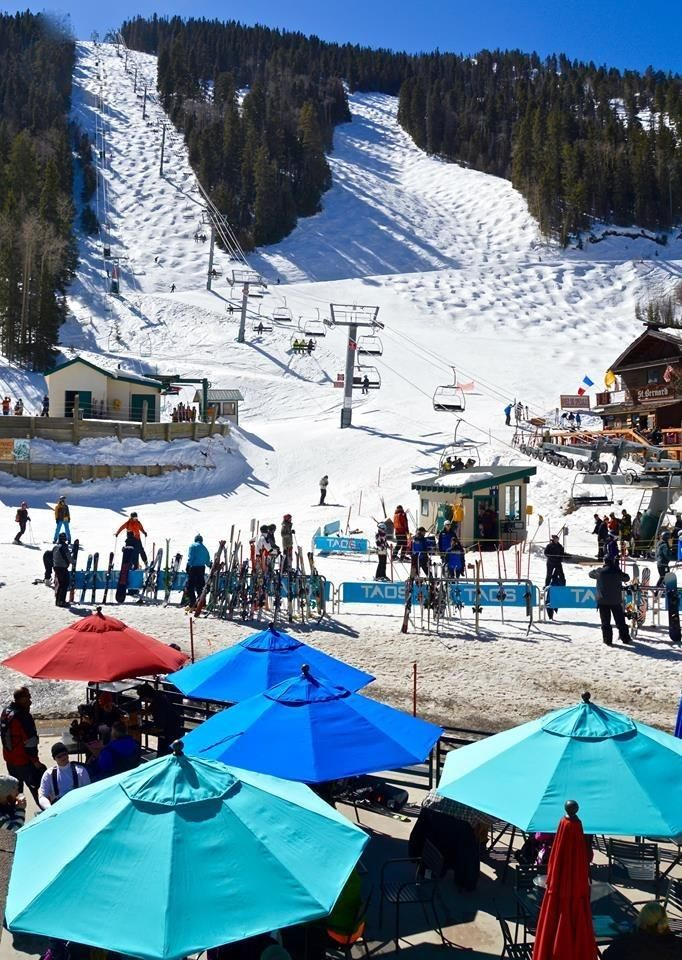 Up in the mountains, New Mexico has a winter wonderland just waiting for you to explore at Taos Ski Valley!