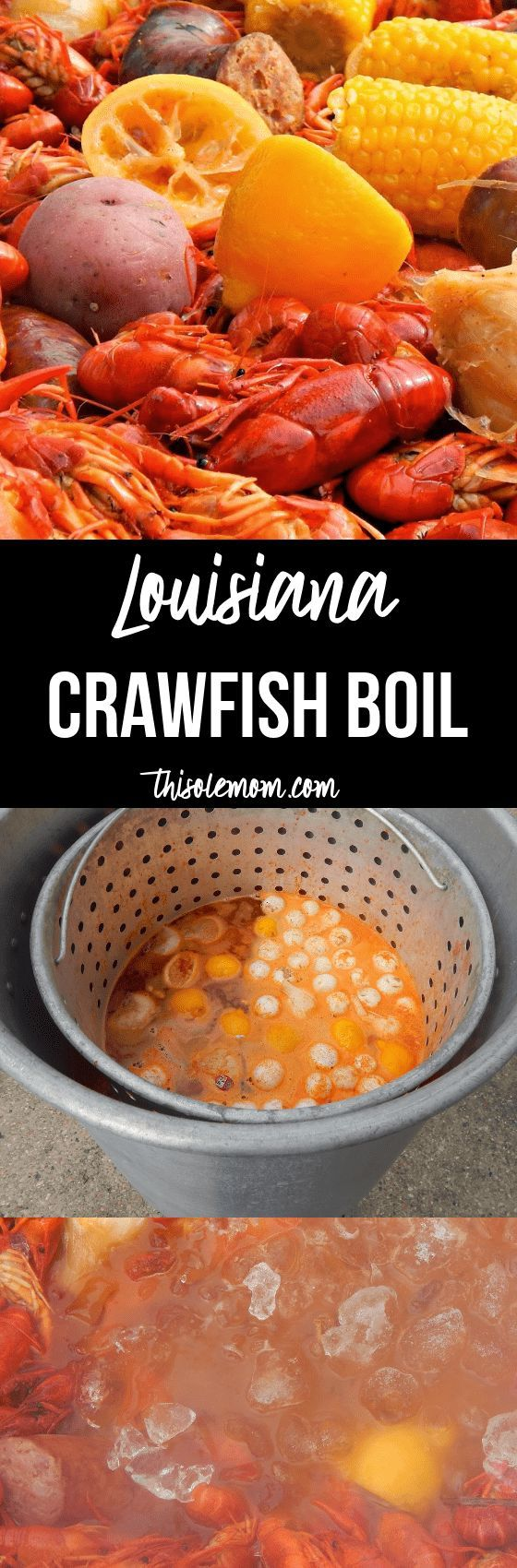 Louisiana Crawfish Boil (How to boil crawfish)  (Click on photo to go to post to print out recipe)