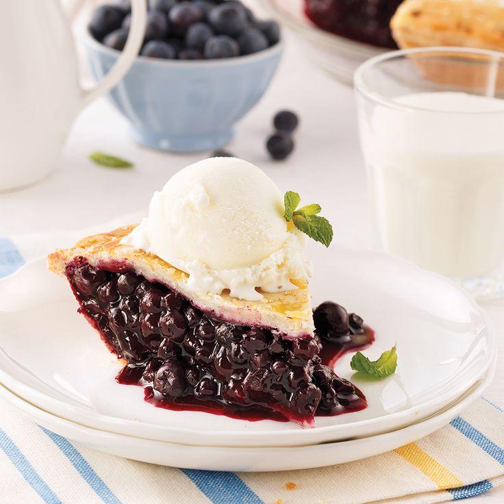 Tarte aux bleuets - Desserts - Recettes 5-15 - Recettes express 5/15 - Pratico Pratique