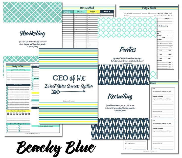 Direct sales planner   Etsy