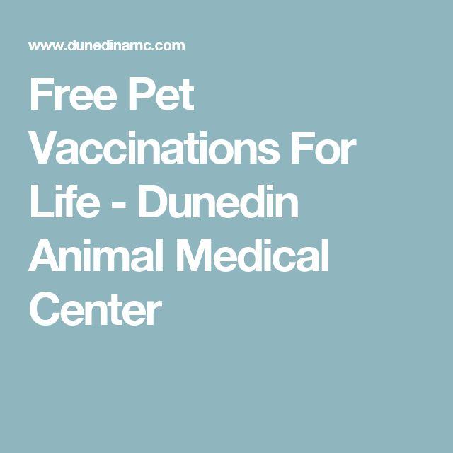Free Pet Vaccinations For Life - Dunedin Animal Medical Center
