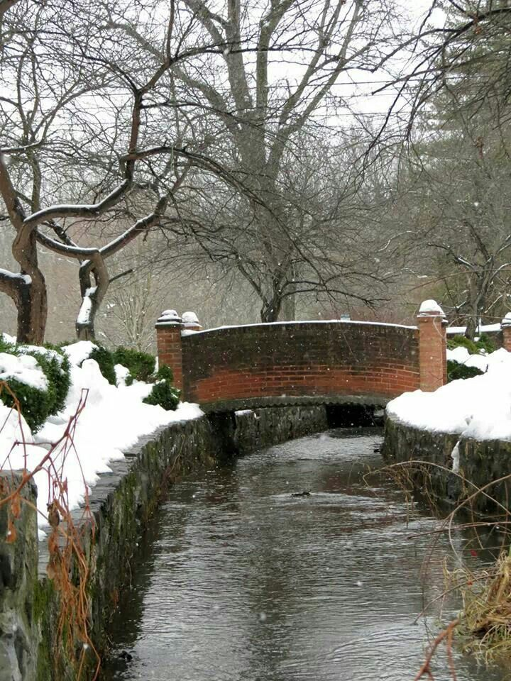 Shepherdstown, West Virginia by Amy Allen. This reminds me of a little bridge in Mullins WV